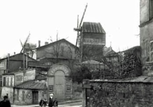 gypsum Moulin de la Galette late 1880's