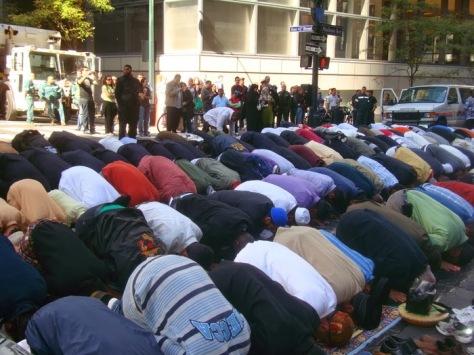 Prayers in NY City 1
