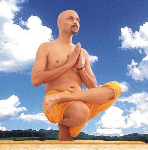 Indian Yoga Guru