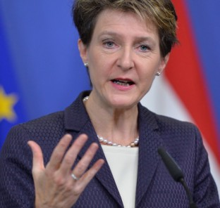 President of Switzerland Sommaruga in Brussels