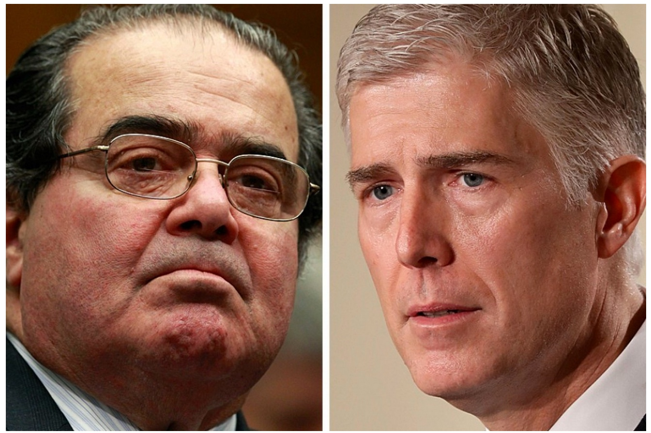Scalia and Gorsuch