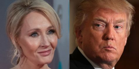 rowling and Trump